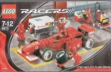 LEGO RACERS 8673 FERRARI F1 FUEL STOP INSTRUCTION BOOKLET ONLY 8673