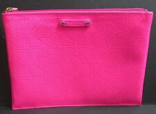 Kate Spade Clutch Pouch Small  iPad Case Spade Pink Patent Leather NWOT HEARTS
