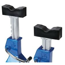 2 Pc. Rubber Pads Covers For 3 or 6 Ton Jack Stands! Protect From Scrapes Nicks!