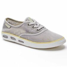 Columbia Vulc N Vent Women's Mesh Sneakers silver size 9.5 med new in the box