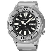 Seiko SRP637 Prospex Automatic Diver 24 Jewels Stainless Steel Black Dial Watch