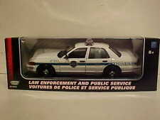 2001 Ford Crown Victoria US Border Patrol Interceptor Diecast Car 1:18 10 inch