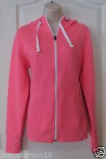 Tek Gear® Scuba Neck Full-Zip Fleece Hoodie Ardent Pink Women's Sz M NWT MSRP$32
