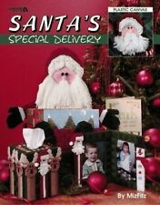 Santa's Special Delivery Cross Stitch Plastic Canvas Pattern Booklet