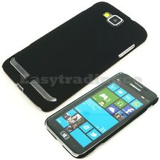 Hard Back Cover Case Samsung Ativ S i8750 T899M Black