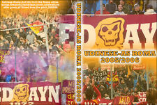 DVD UDINESE-ROMA 2005-2006  (ULTRAS AS ROMA ,TOTTI,DDR,BOYS,FEDAYN)