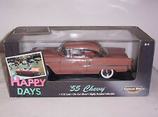 1/18 American Muscle ERTL 1955 Chevrolet Coupe Happy Days 36603 Rare 2001