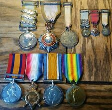 "Fantastic Crimea QSA WW1 ""Hero of the Cemetery"" Lt Colonel Family Medal Group"
