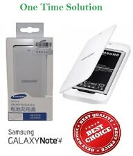 Spare Battery Charger For Samsung Galaxy Note 4 + Genuine Battery