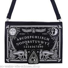 Restyle Ouija Buch Tasche Moon Handtasche Bag Witchy Mond Vintage Kunst-Leder