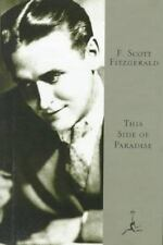 Modern Library: This Side of Paradise by F. Scott Fitzgerald (1996, Hardcover, A