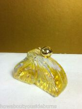 YG5 VINTAGE AVON COLLECTIBLE AVON SOMEWHERE COLOGNE BUTTERFLY 1/2 FULL BOTTLE
