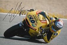Alex Rins Hand Signed Paginas Amarillas HP 40 Kalex 12x8 Photo 2015 Moto2 1.
