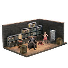 THE WALKING DEAD - The Governor's  & Fish Tank Room - McFARLANE BUILDING SETS