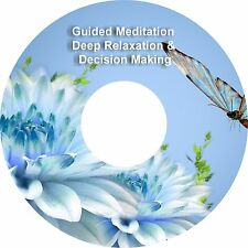 2x Guided Meditación Decision Making & Deep Relajación en 1 CD Alivio Del Estrés