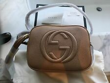 Gucci Soho Disco Bag - Rose Beige Leather - New