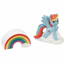 My Little Pony Rainbow Dash Ceramic Salt and Pepper Shakers Set NEW UNUSED BOXED