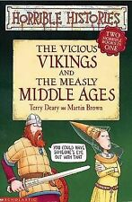 Vicious Vikings and Measly Middle Ages by Terry Deary (Paperback, 2004)