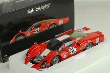 Porsche 906 LH 12H Sebring 1967  Squadra Tartaruga #40 1:18 Minichamps