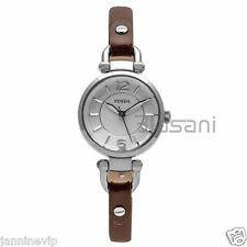 Fossil Original ES3861 Women's Georgia Brown Leather Watch 26mm