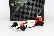 Ayrton Senna McLaren MP4/4 #12 Weltmeister Japan GP Formel 1 1988 1:18 Premium X