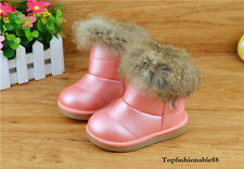 Winter Baby Girl Snow Boots Fashion Toddler Boots Shoes Kids Snow Boots for Girl