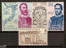 Spain Edifil # 1889/1893 ** MNH set. Forjadores / America Discovery