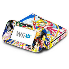 Skin Decal Cover for Nintendo Wii U & GamePad - Sailor Moon Pretty Guardian