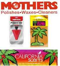 Mothers Power Cone Polishing Tool With California Scent Freshener