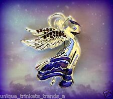 SILVER ANGEL PURPLE BROOCH PIN~MOTHERS DAY GIFT FOR MOM HER FRIEND WIFE GRANDMA