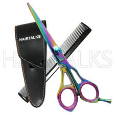 5.5 Inch Multi Color Professional Hairdressing Barber Razor Scissors Shears