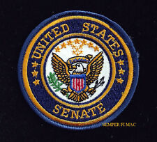 US SENATE WASHINGTON DC VEST HAT PATCH SHIELD PIN UP GIFT QUILT SOUVENIR EAGLE