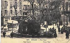 France Postcard - Toulon - Puget Square    ZZ2944