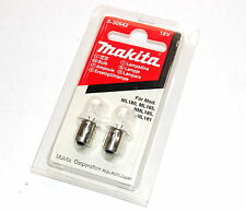2x Genuine Makita 18v Torch Bulbs A-30542 (BML185 ML180 ML181 ML185)