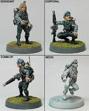 Shadowforge Miniatures Sci Fi Politburo Worker Battalion Command