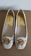 New Michael Kors Fulton Moccasin MK signature shoes.US9.RT$99.