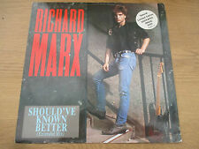 "Richard Marx ‎– Should've Known Better Vinyl 12"" 45 Etched Single Sided  12MTS32"