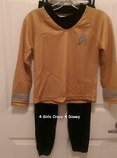 CHILDRENS COSTUME CAPTAIN KIRK SIZE MEDIUM 8-10 NEW IN PACKAGE