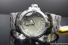 Mens Invicta 0648 Reserve Sea Excursion GMT Stainless Steel Swiss Watch New