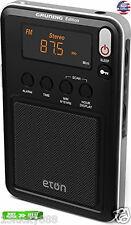Mini Compact Am Fm Radio Eton Shortwave Black Ngwminib New Grundig Sw Digital
