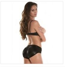 Sexy Booty Padded Seamless Butt Enhancer  Underwear Bum Shaper  S/M Black New