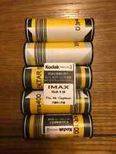 65mm Kodak vision3 5219 500T Motion picture film trans for 120 film X5rolls