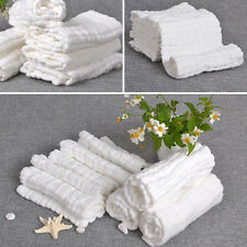 30CM *30CM  Baby Handkerchief Towel Infant Bibs White Small Square Quality
