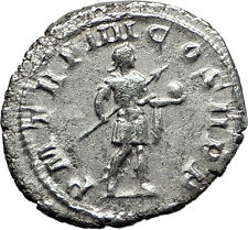 GORDIAN III 240AD Authentic Original RARE Ancient Silver Roman Coin i59026