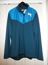 PUMA 1/4 ZIP LONG SLEEVE, SIZE X-LARGE,NWT'S