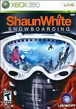 SHAUN WHITE SNOWBOARDING XBOX 360! SNOW, TRICKS, RACE, OPEN WORLD MOUNTAINS!