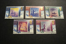 GB 1988 Commemorative Stamps~Christmas~Very Fine Used Set~(ex fdc)UK Seller