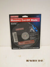 "CRAFTSMAN 7"" MASONRY CUT OFF BLADE SILICON CARBIDE REINFORCED 24 GRIT 64538-NIP"
