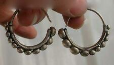 Popular Miao silver women's earrings pair,Mother's Day Gift