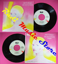 LP 45 7'' PATTY PRAVO Per una bambola Viaggio 1984 italy CGD 10535 cd mc dvd